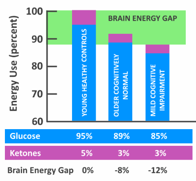 brain energy gap